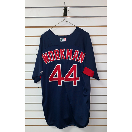 Brandon Workman Team Issued Road Batting Practice Jersey