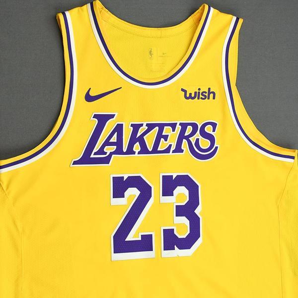 lebron james game jersey