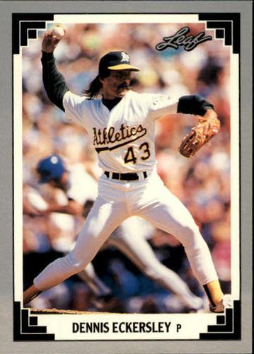 Photo of 1991 Leaf #285 Dennis Eckersley