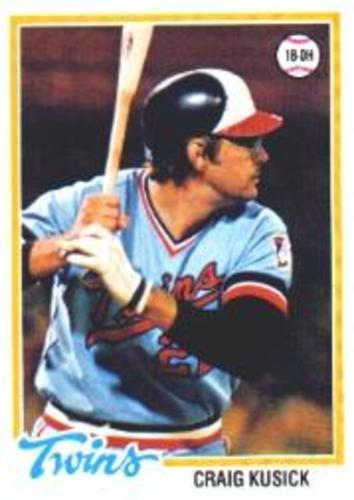 Photo of 1978 Topps #137 Craig Kusick