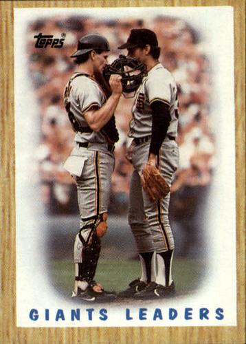 Photo of 1987 Topps #231 Giants Team/(Bob Brenly and/Jim Gott)