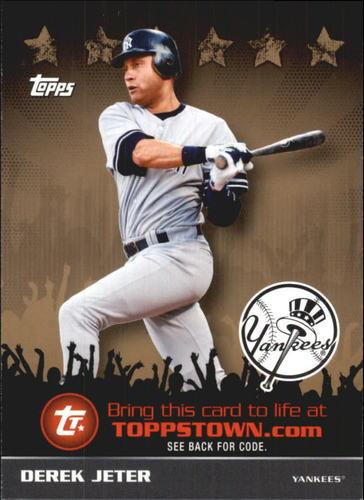 Photo of 2009 Topps Topps Town Gold #TTT29 Derek Jeter