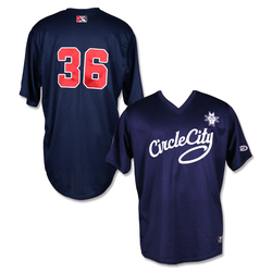 Photo of #36 Game Worn Circle City Jersey