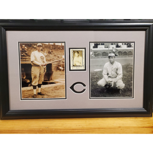 Photo of Edd Roush Autographed Frame