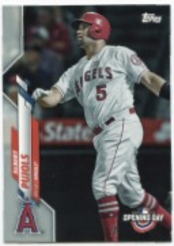 Photo of 2020 Topps Opening Day #44 Albert Pujols