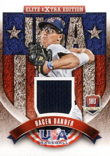 Photo of 2015 Elite Extra Edition USA Baseball 18U Jerseys #14 Hagen Danner