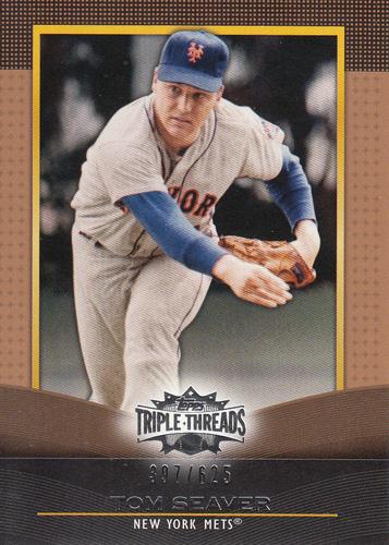 Photo of 2011 Topps Triple Threads Sepia #84 Tom Seaver