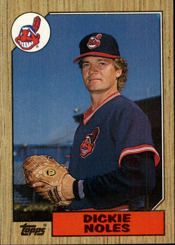 Photo of 1987 Topps #244 Dickie Noles