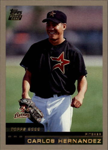 Photo of 2000 Topps Traded #T50 Carlos Hernandez RC