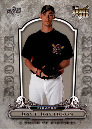 Photo of 2008 UD A Piece of History #135 Dave Davidson RC