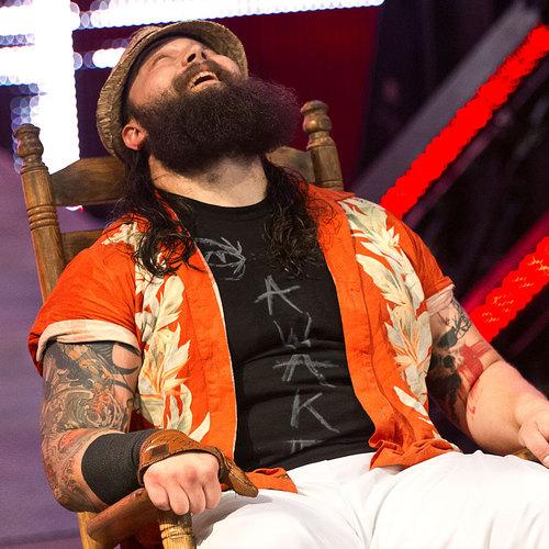 Bray Wyatt Worn & Signed Custom T-Shirt (AWAKE - RAW 10/28)
