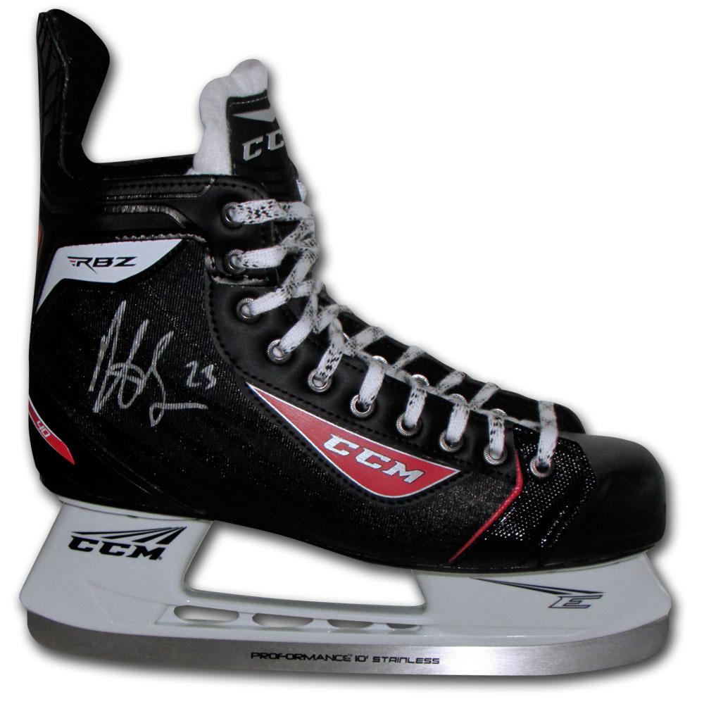 Dustin Brown Autographed CCM Hockey Skate (Los Angeles Kings)