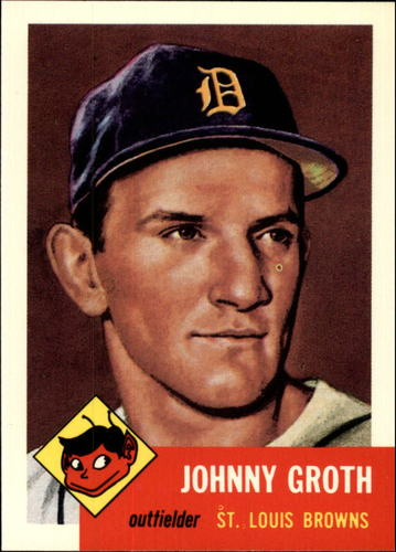 Photo of 1991 Topps Archives 1953 #36 Johnny Groth