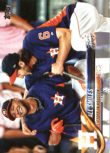 Photo of 2018 Topps #298 All Smiles/Yulieski Gurriel/Jake Marisnick