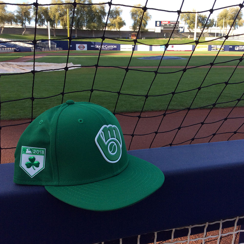 Photo of Pat Murphy 2018 Team-Issued St. Patrick's Day Cap