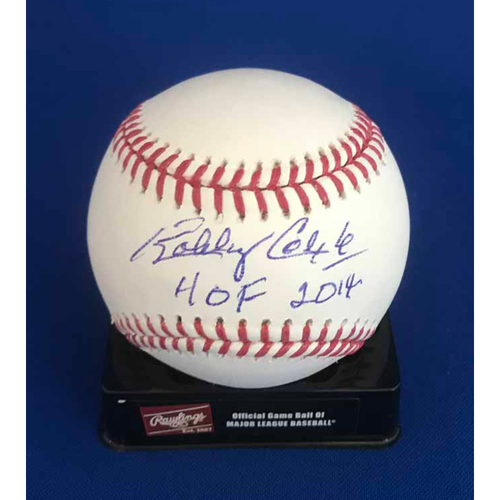 Photo of UMPS CARE AUCTION: Bobby Cox Signed Baseball - Not MLB Authenticated