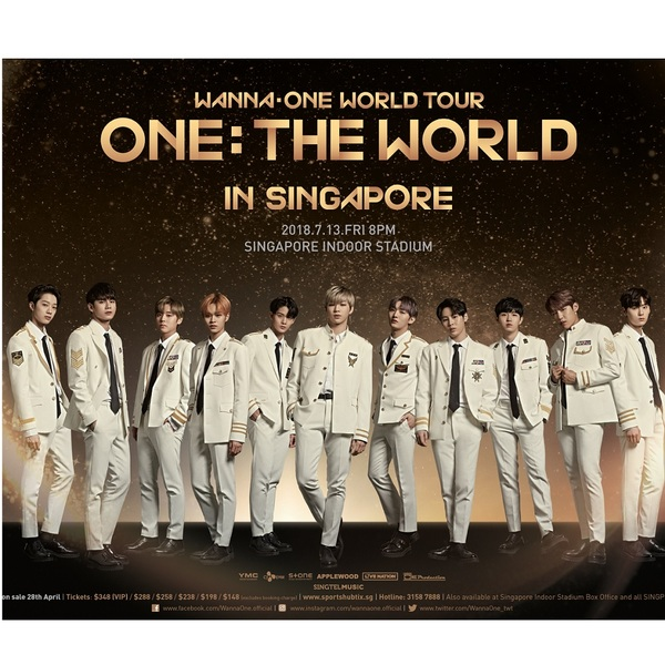 Click to view WannaOne Concert Tickets + Exclusive Rehearsal Experience.