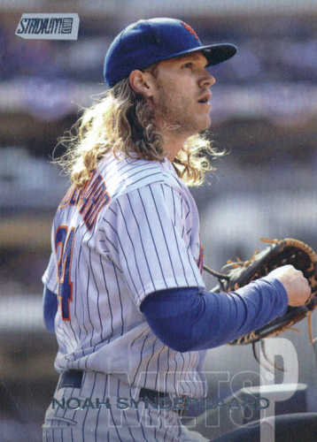 Photo of 2018 Stadium Club #70 Noah Syndergaard