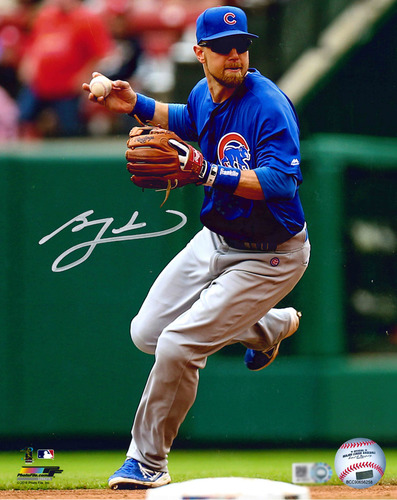 Photo of Ben Zobrist Autographed Photo