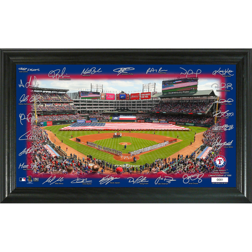 Photo of Texas Rangers Signature Field Photo Frame