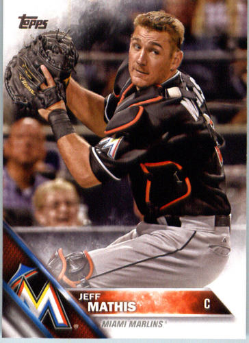 Photo of 2016 Topps #378 Jeff Mathis