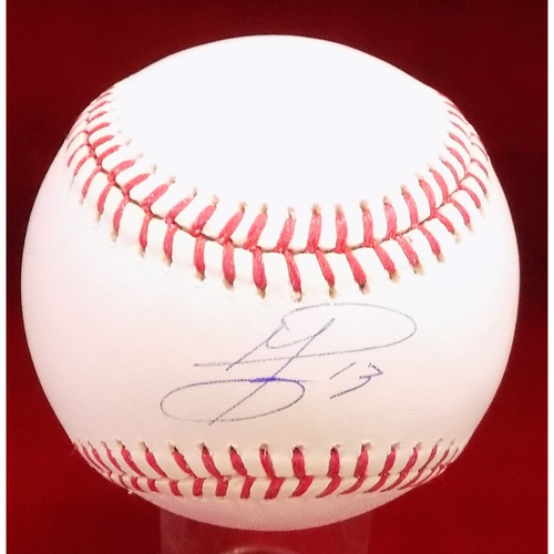 Photo of Jurickson Profar Autographed Baseball