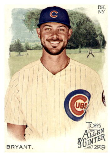 Photo of 2019 Topps Allen and Ginter #16 Kris Bryant