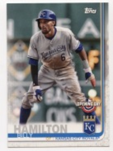 Photo of 2019 Topps Opening Day #1 Billy Hamilton