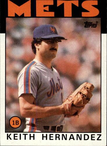 Photo of 1986 Topps #520 Keith Hernandez