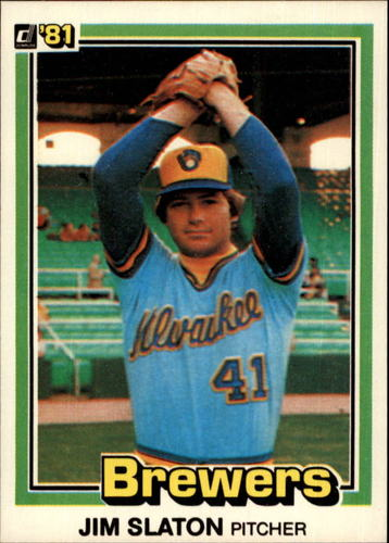 Photo of 1981 Donruss #447 Jim Slaton