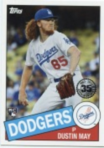 Photo of 2020 Topps '85 Topps #8557 Dustin May