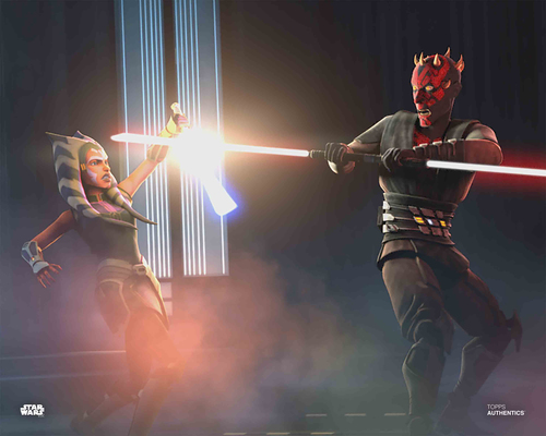 Ahsoka Tano and Maul