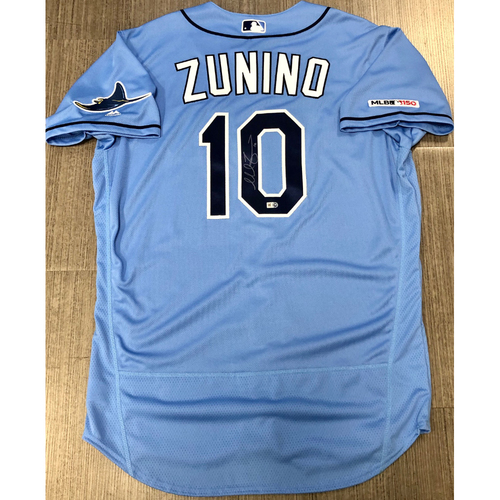 Photo of Autographed Jersey: Mike Zunino