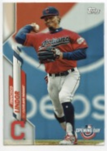 Photo of 2020 Topps Opening Day #48 Francisco Lindor