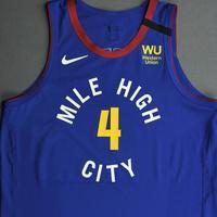 Paul Millsap - Denver Nuggets - Game-Worn Statement Edition Jersey - 2019-20 NBA Season Restart with Social Justice Message