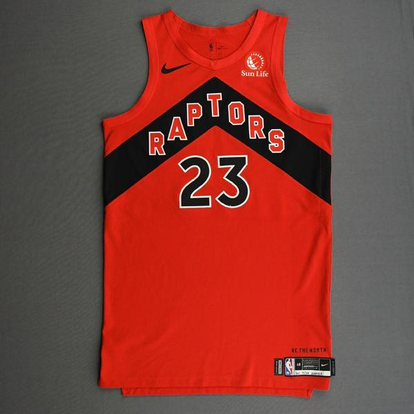Image of Fred VanVleet - Toronto Raptors - Kia NBA Tip-Off 2020 - Game-Worn Icon Edition Jersey