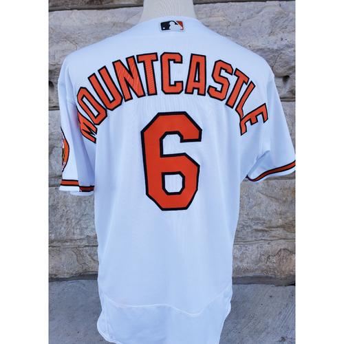 Photo of Ryan Mountcastle: Jersey - Game Used (2-4, HR - 9/23/21 vs. Rangers)