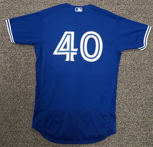 Photo of Authenticated Team Issued Spring Training Jersey: #40 Pete Walker (2021 Season). Size 44.