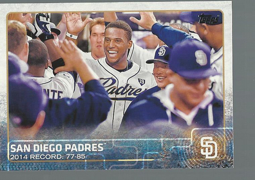Photo of 2015 Topps #342 San Diego Padres