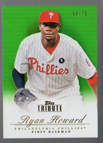 Photo of 2012 Topps Tribute Green #33 Ryan Howard