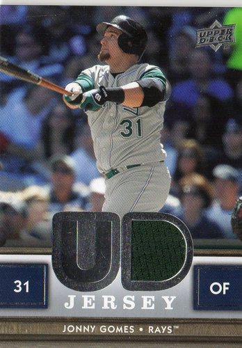 Photo of 2008 Upper Deck UD Game Materials #GO Jonny Gomes S2