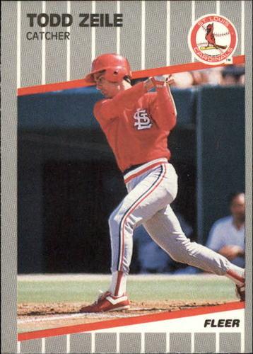 Photo of 1989 Fleer Update #122 Todd Zeile RC