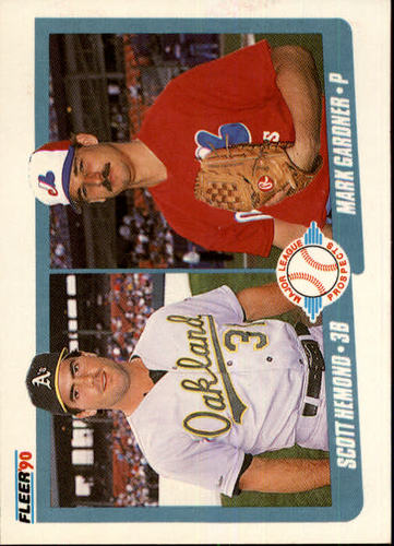 Photo of 1990 Fleer #646 Scott Hemond RC/Mark Gardner RC