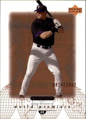 Photo of 2002 Upper Deck Ovation #67 Doug Devore WP RC