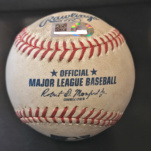 Photo of Carlos Correa Game-Used Home Run Baseball