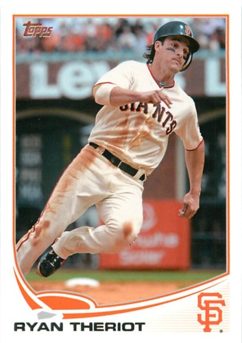 Photo of 2013 Topps #205 Ryan Theriot