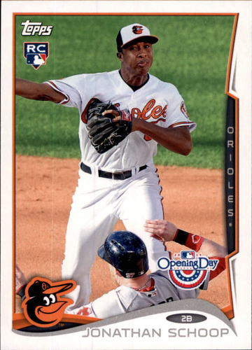 Photo of 2014 Topps Opening Day #186 Jonathan Schoop RC