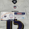 London Games - Ravens  Ryan Mallett game worn Ravens jersey (September 24, 2017) Size 46