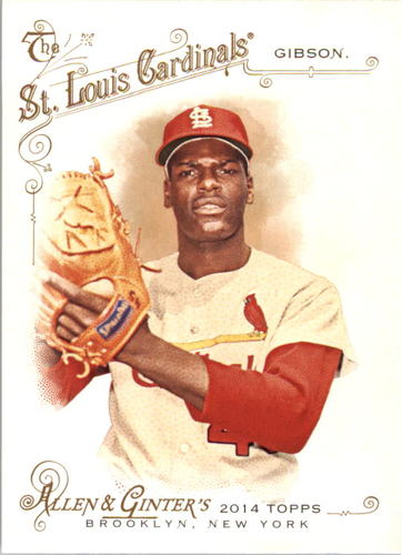 Photo of 2014 Topps Allen and Ginter #226 Bob Gibson