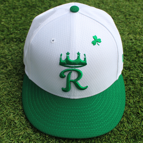 Photo of Game-Used St. Patrick's Day Cap: Vance Wilson (Size 7 3/8 - SF @ KC - 3/17/19)
